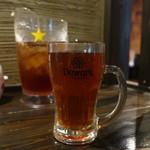 135酒場 - お冷用の烏龍茶