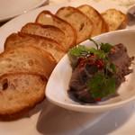 カッチャトーレ - 若鶏のレバーペースト