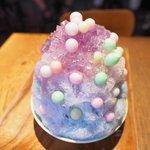 yelo - ハイドランジア(紫陽花)+おいり 1050円