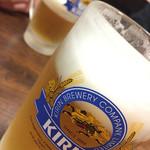 海鮮いづつ - キリンビールで乾杯