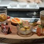 カゲロウ - 料理写真:2017.9 前菜盛り合わせ(8種類)