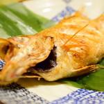 小石川 かとう - 料理写真:のどぐろ 塩焼@1,600円