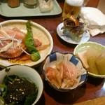 波浮港 - 料理写真:前菜(少なめ)