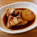山傳丸 - トロメカジキピリ辛煮