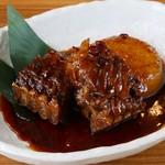 山傳丸 - 本まぐろヒレ肉のぴり辛煮