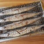山傳丸 - 秋刀魚の塩焼き