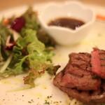 近江牛Steak&Wine モダンミール - 肉です。言葉無用です。美味しい