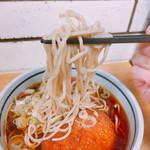 駅そば大宮 - 麺リフト