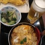 丸亀製麺 - 飲み放題1000円のスタート時点