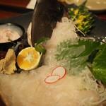 魚屋さんの台所 - カワハギアップ