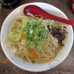 タンメン本舗 ろざん - 1日分のたっぷり野菜タンメン