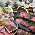 京焼肉 ききょう - 季節のコ-ス