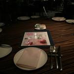 AWkitchen TOKYO - 相方来る前のテーブルセット