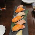 ステーキ&焼肉 食べ放題 300B ONE - 握り寿司