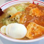 73178293 - 蒙古タンメン+クーポンゆで卵