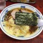 白河中華そば - 中華ワンタン麺@920円