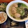 福朗 - 料理写真:しゃも塩ラーメン定食 800円