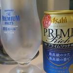 73180867 - 成蹊前ラーメン 発泡酒