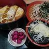和食ダイニング 田久井 - 料理写真:カツ丼セットの麺付き、950円也。