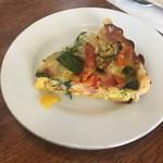 Cafe&Deli COOK - ベーコンとたっぷり野菜のキッシュ