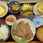 近江かね安 - 焼肉定食(3300円)