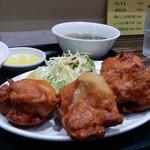南京路 - 「唐揚げハーフ定食」
