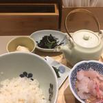 だし茶漬け えん - 愛媛産 鯛だし茶漬け930円