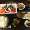 カースル - 料理写真:ブツ切り刺身定食 750円