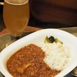 BERG - 五穀米と十種野菜のカレー、東京ブロンド