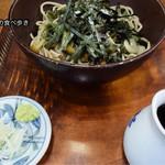 玉乃屋 - 料理写真:冷山菜そば 950円
