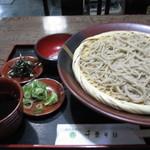 千束そば - 料理写真:丸岡産夏新蕎麦十割885円
