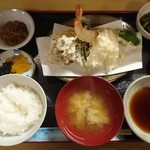 73189707 - 天ぷら定食1300円