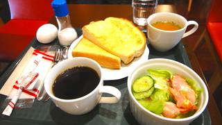 カフェ・ド・キネマ グランキネマ店 - モーニングセット