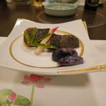アブラヤ宴席油や - 2017/6/☆  お魚とはじかみ