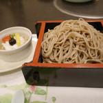 アブラヤ宴席油や - 2017/6/☆  仕上げの蕎麦とデザート