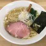 麺処 有彩 - 「魚介鶏だし塩らぁめん」650円