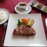 レストランカワヨグリーンロッヂ - サーロイン 200g