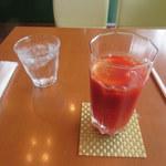 ナカヤマカフェ - トマトジュース
