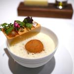 オマージュ - モンサンミッシェル産ムール貝のコロッケ