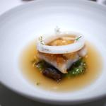 オマージュ - 甘鯛の松笠焼き
