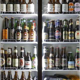 国産クラフトビール樽生6タップ&小瓶多数ご用意!
