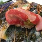 第三春美鮨 - シビマグロ 141.6kg 腹上二番 蛇腹 青森県大間 熟成4日目
