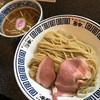 ラーメン而今 - 料理写真:濃厚醤油つけ麺大盛り1000円