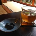 73195087 - お茶と丹波黒豆