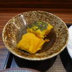 串揚げふじ川 - かぼちゃの煮物