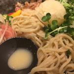 73196441 - 白味噌とプロシュートの冷製味噌麺