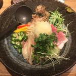 73196443 - 白味噌とプロシュートの冷製味噌麺