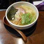 麺たつ - 塩ラーメン(鶏油)
