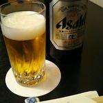 73196984 - 中瓶ビール 885円 (750+サ75+税60) 2017年9月