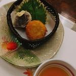日本料理 ぎん - 長芋の揚げ物